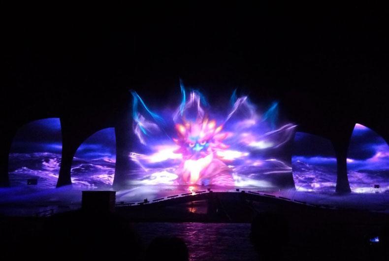 日照日出东方海之秀普通成人票海上演出烟花喷泉动画热销